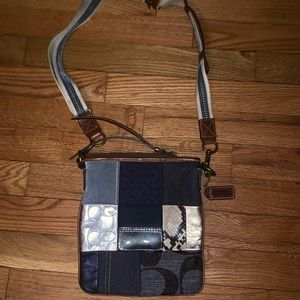 Coach Cross Body Messenger Bag